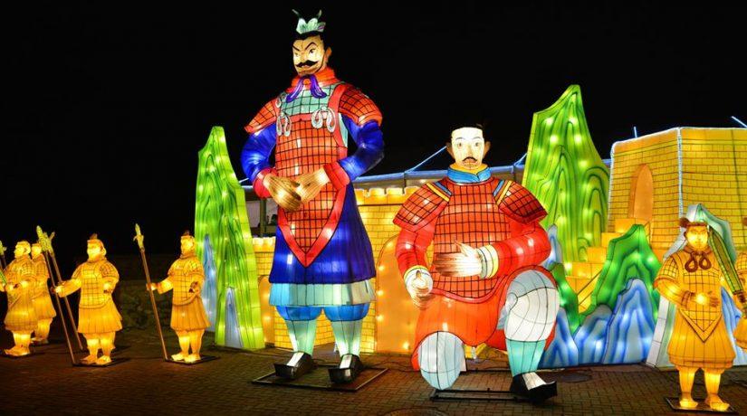 Чем удивил фестиваль китайских фонарей в Киеве