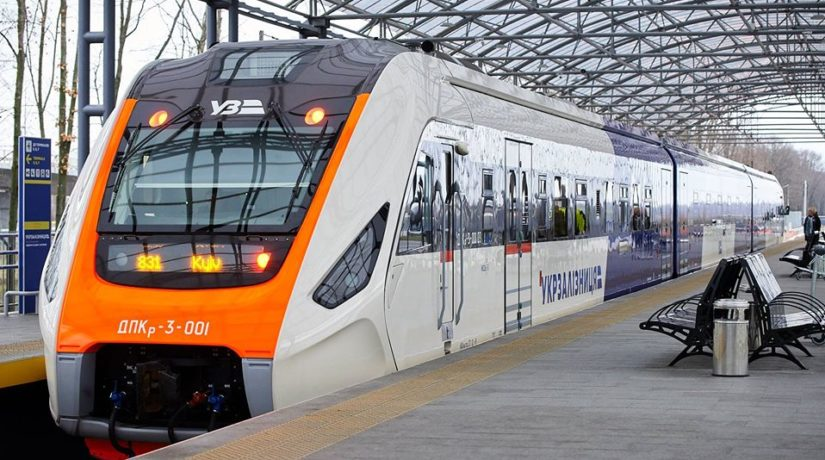 Kyiv Boryspil Express, дизель-поезд