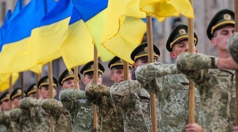 Президент поздравил украинскую армию с Днем Вооруженных сил