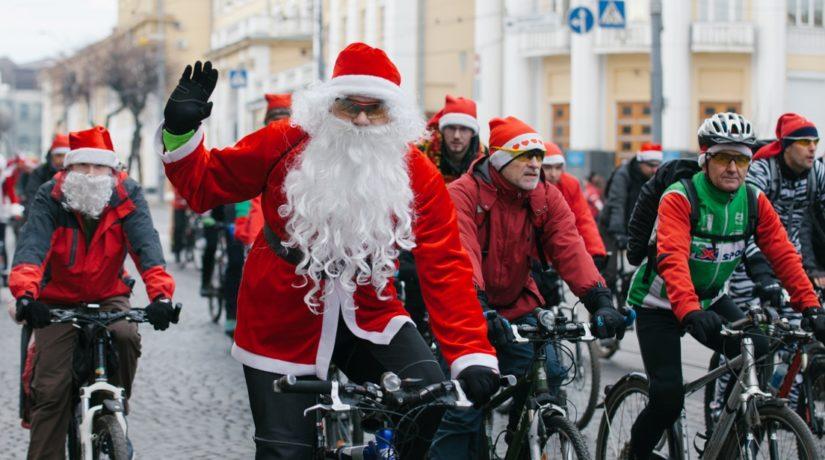 От елки до елки: в Киеве пройдет праздничный велопарад