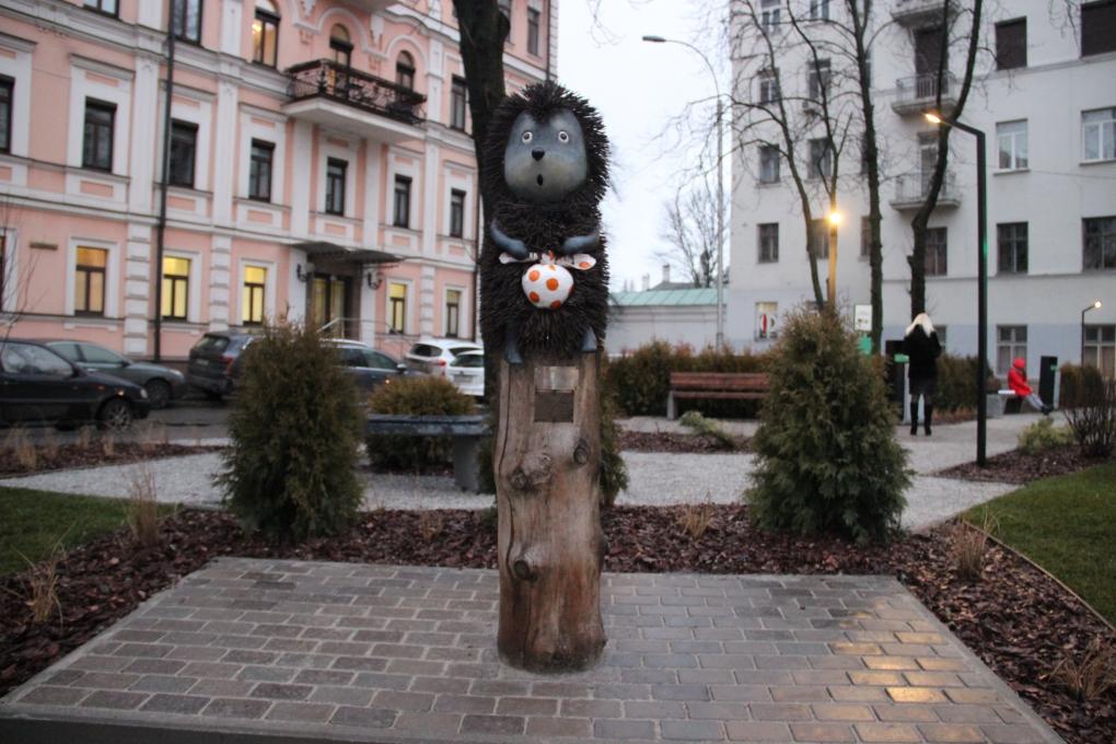 Эко-парк на Рейтарской Киев