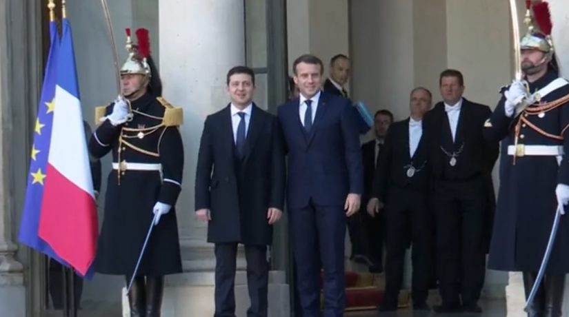 Встреча «нормандской четверки» в Париже: хроника