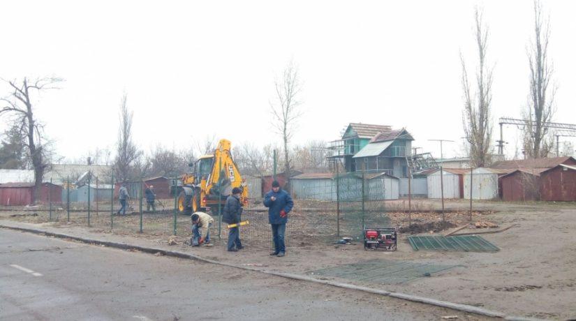 Площадка для выгула собак Никольская Слободка