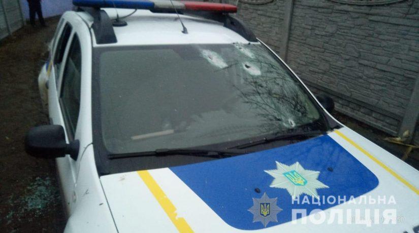 В Яготине неизвестный обстрелял полицейских и скрылся