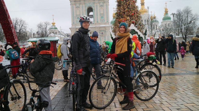 Велопарад праздничный Киев 2019
