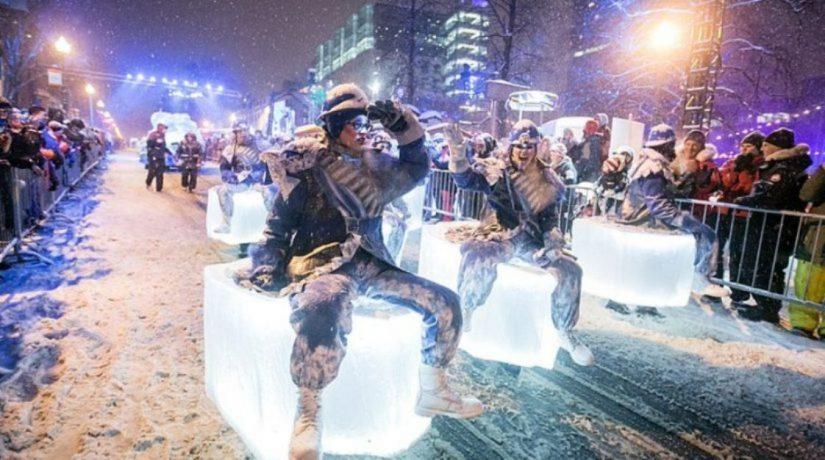 Новогодний парад Киев