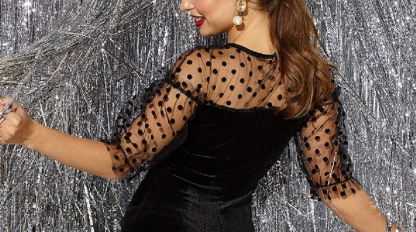 Ахроматическая красота: выбираем черное платье