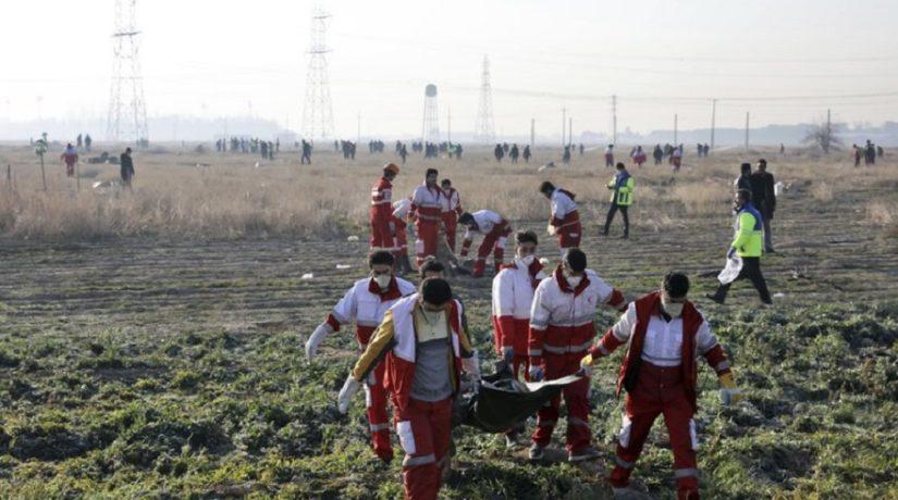 Авиакатастрофа самолета МАУ: Иран заявил о потере части данных из черных ящиков
