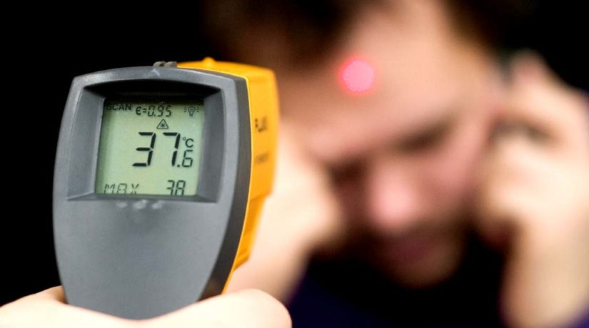 В аэропорту «Борисполь» начали измерять температуру пассажиров