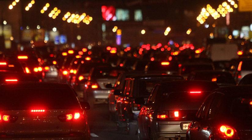 вечерние пробки
