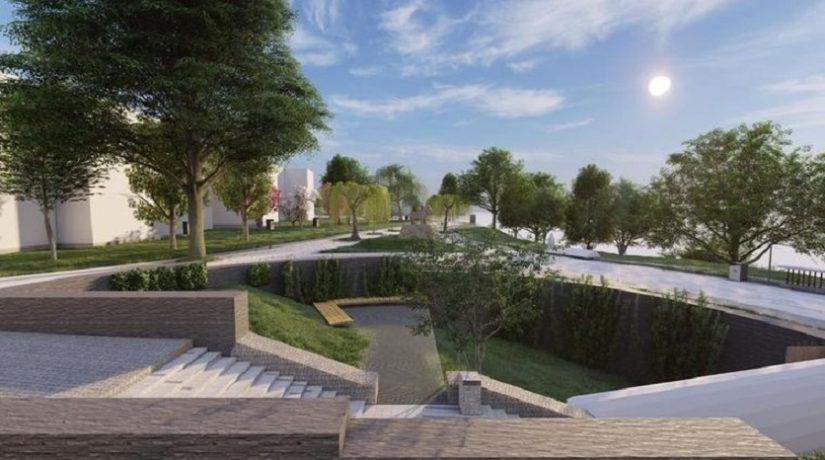 Реконструкция Пейзажной аллеи обойдется в 123 млн грн