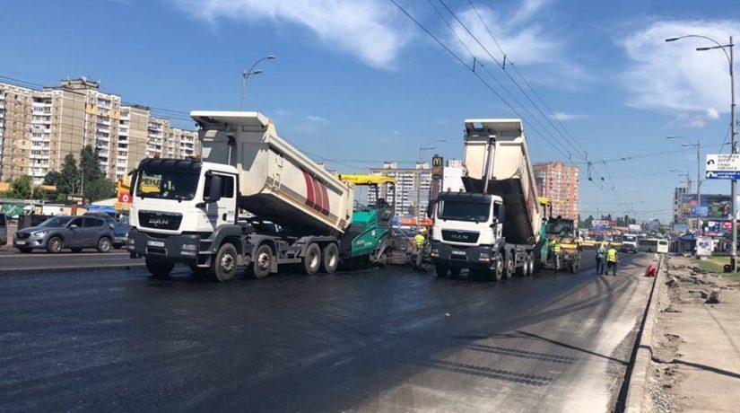 Планы на год. В Киеве построят новую дорогу, капитально отремонтируют проспекты и улицы