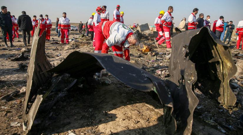 Страшные кадры: появилось видео поисковой операции ГСЧС на месте крушения самолета МАУ