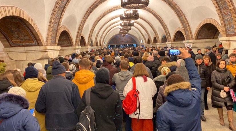 Перевантаженість станцій метро Києва утричі більша, ніж в Європі – як покращать ситуацію