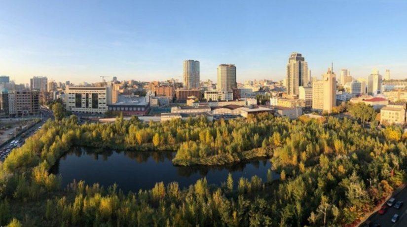 Киевляне предлагают обустроить парк на улице Антоновича