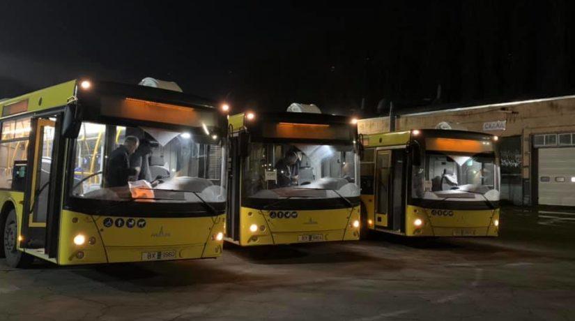 В 2020 году в Киеве запустят еще один ночной автобусный маршрут