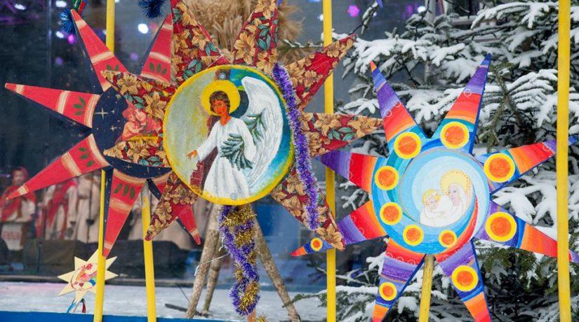 По Киеву пройдет праздничное шествие с рождественскими звездами