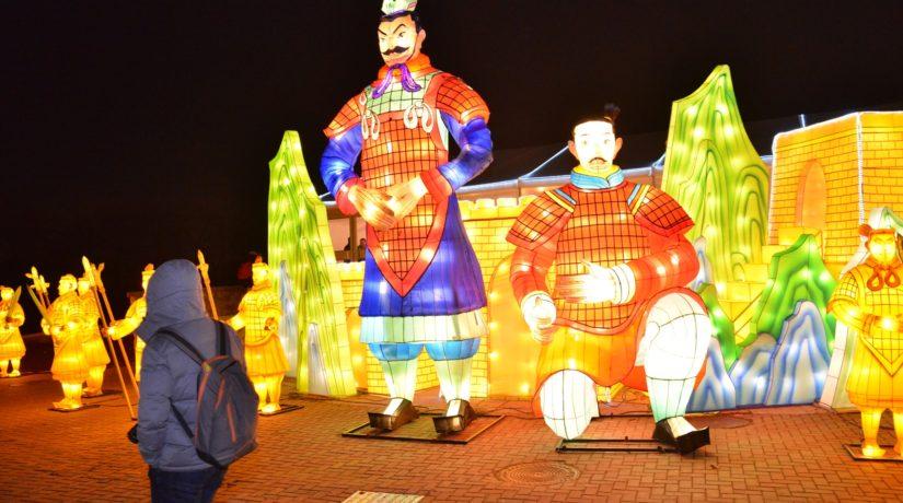21 января на фестивале китайских фонарей в Киеве – социальный день