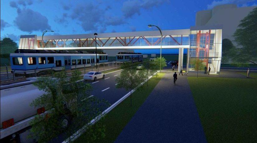 Летом киевляне смогут прогуляться по новому мосту возле кинотеатра «Лейпциг»