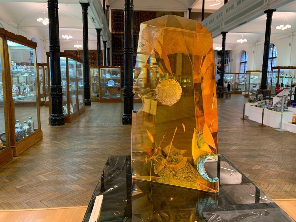 Ян Зоричак, стекло, выставка