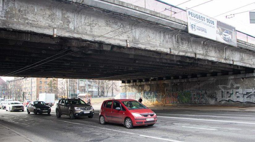 Все мосты и путепроводы в Киеве дополнительно обследуют