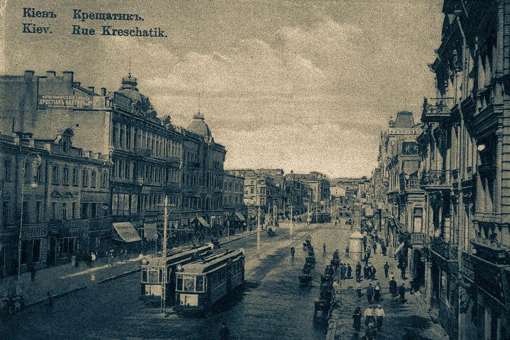 История киевского трамвая – трамвай на Крещатику – трамвай на Дворец Спорта