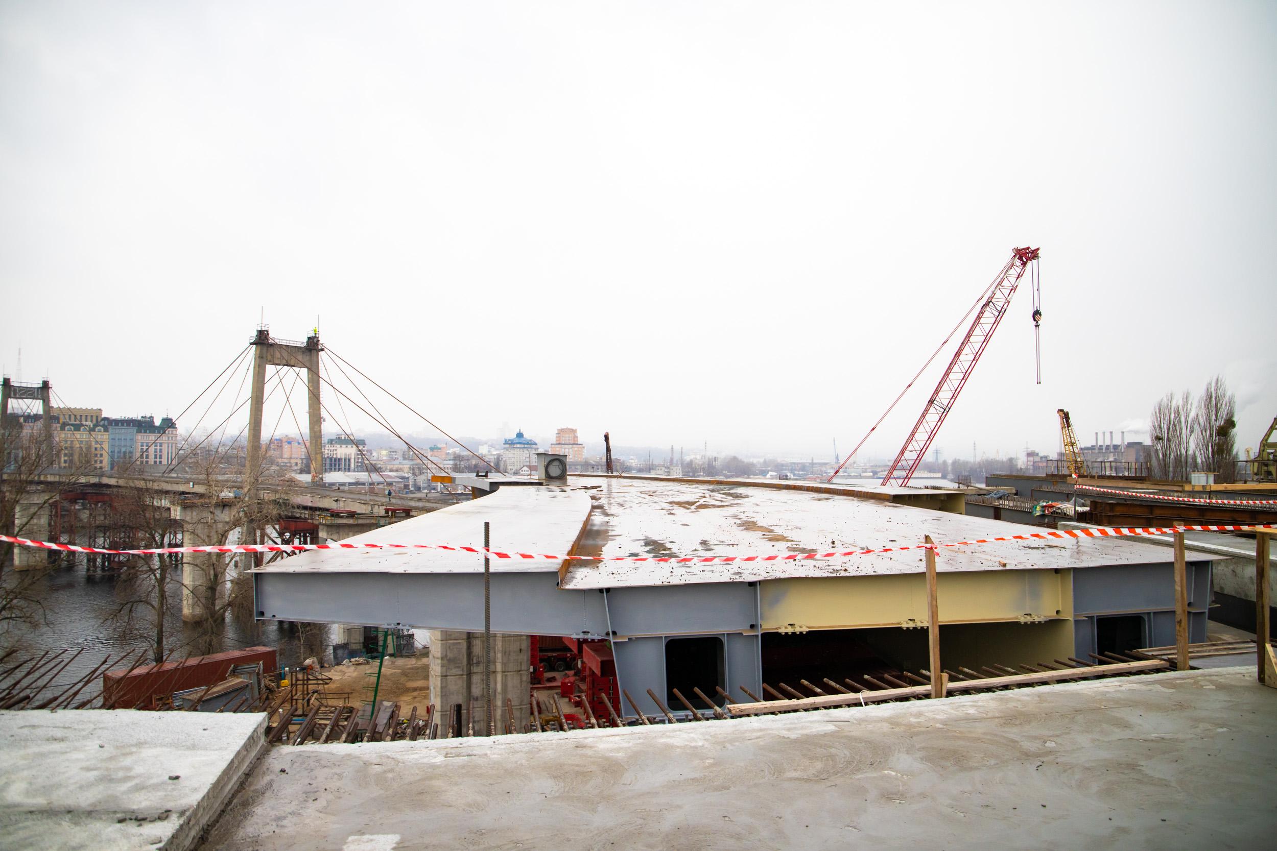 Подольско-Воскресенский мост, строительство