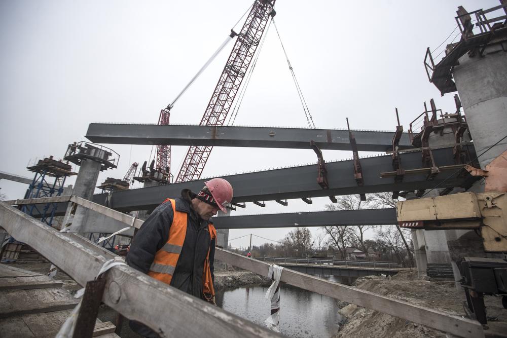 сварка, Подольско-Воскресенский мост мост