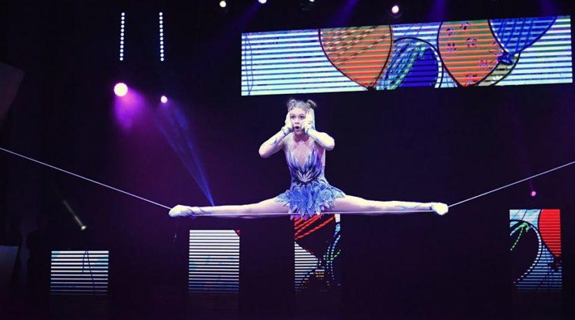 Киевская школьница победила на фестивале циркового искусства в Испании