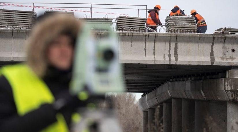 Движение в районе новой развязки на Богатырской откроют до 31 марта
