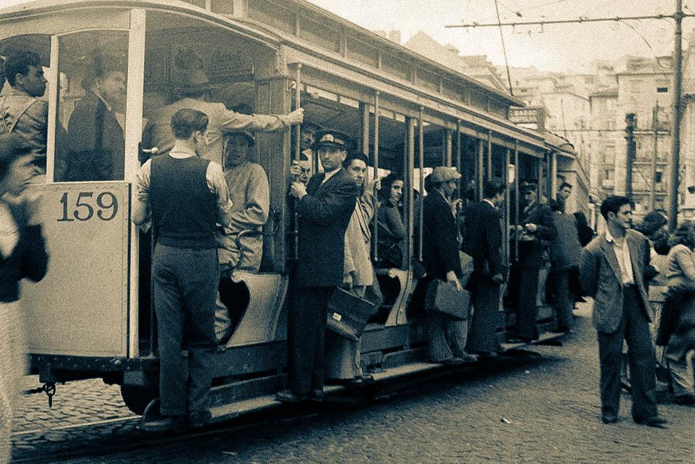 История киевского трамвая – Трамвай в Лиссабоне – трамвай на Дворец Спорта