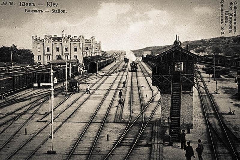 Киевские головы – Федор Войтенко – железнодорожный вокзал в Киеве