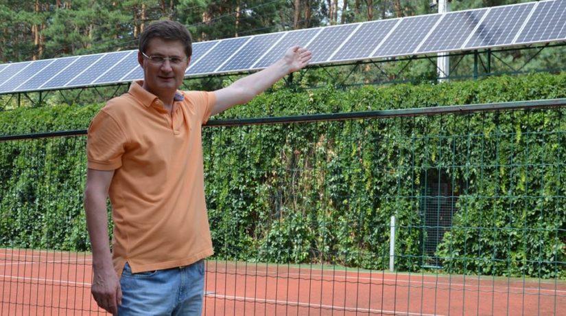 Киевлянин Игорь Кондратюк рассказал, сколько можно заработать на энергии солнца