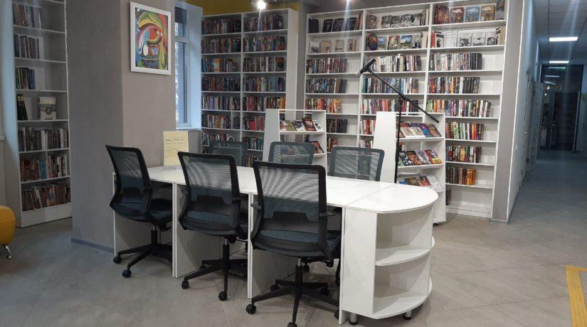 В Киеве еще одна библиотека стала современным хабом