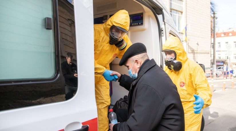Коронавирус Киев больница