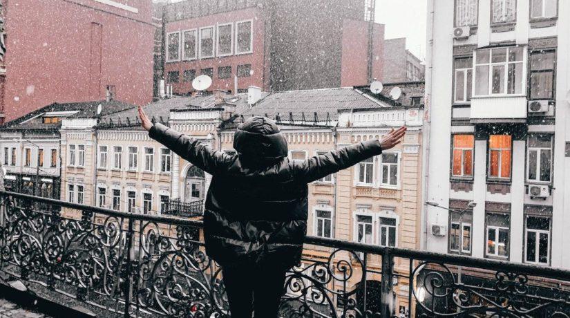 Киев замело – синоптики сказали, надолго ли пришла зима