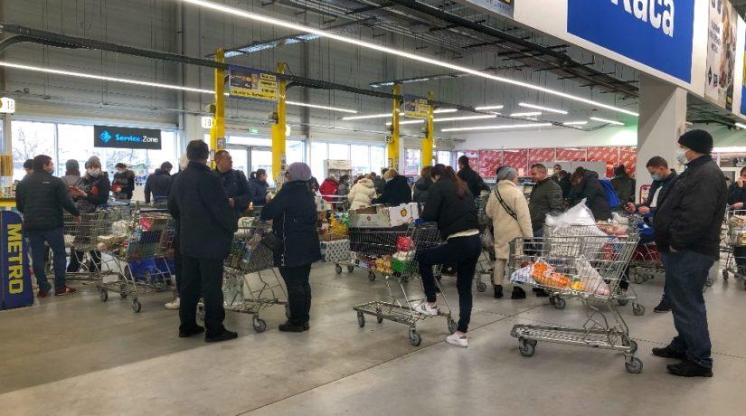 Локдаун 8-24 січня: у супермаркетах заборонять продавати низку товарів