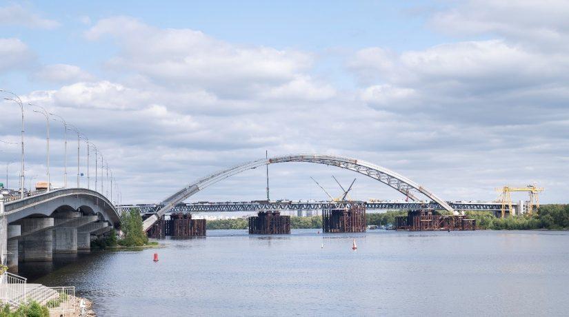Арка Подольско-Воскресенского моста будет светиться