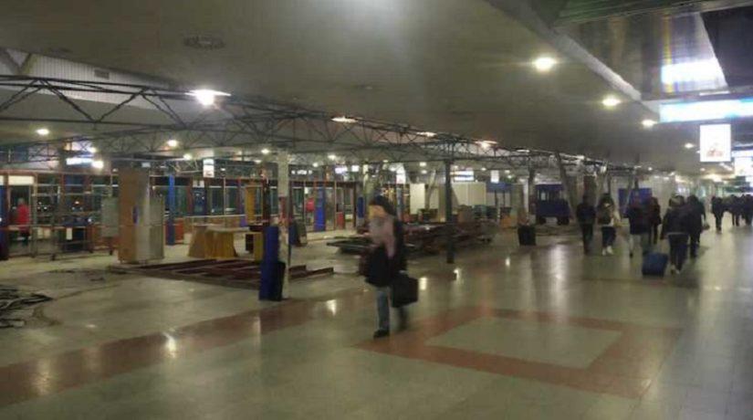 Южный вокзал освобождают от МАФов