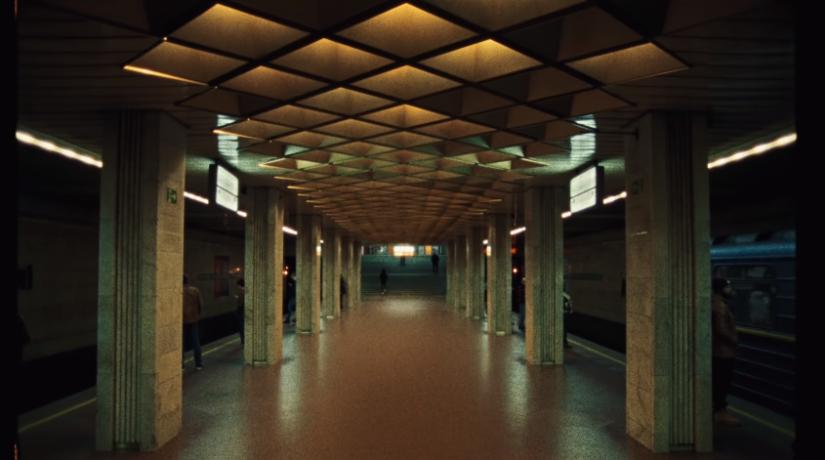 Британский певец снял видеоклип в киевском метро
