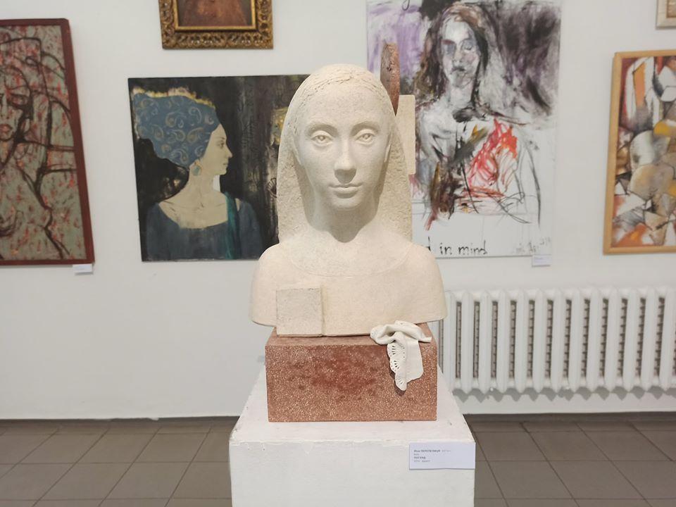 женский портрет, выставка, Дом художника