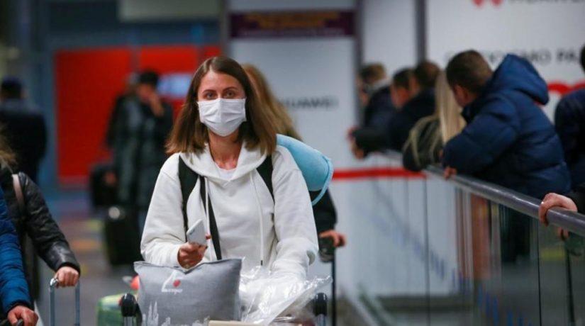 Аэропорт карантин коронавирус маска