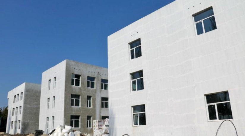 Строительство первой энергонезависимой школы идет к финишу