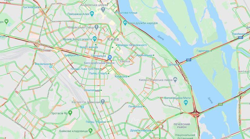 Стресс-тест без метро: тотальные пробки и очереди на остановках