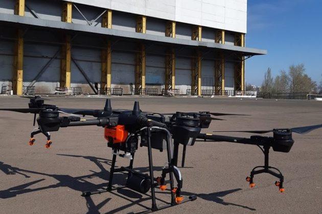 Комунальники випробовують дрони-дезінфектори. Які переваги вони мають