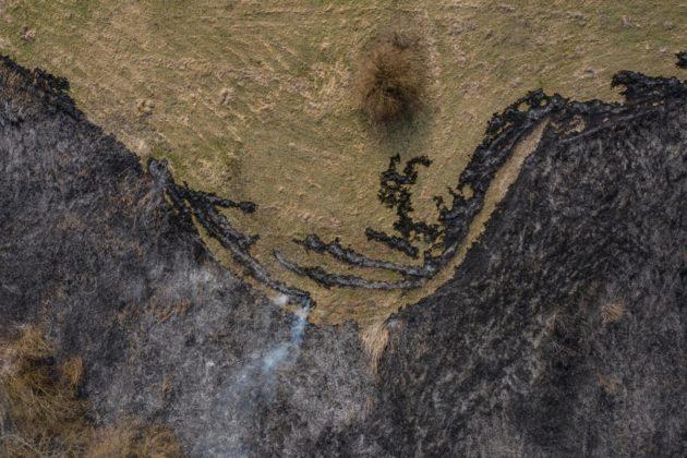 Пожежа в Чорнобилі: на дрони начепили тепловізори