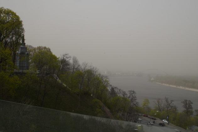 Індекс повітря в Києві станом на 21:00 – в столиці найбрудніше повітря в світі