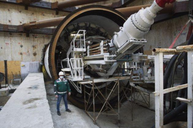 Як готуються до прокладання нового тунелю метро на Виноградар