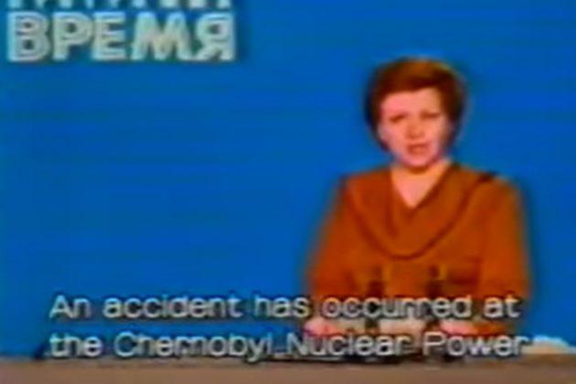 День 28 квітня 1986 року. Радянський Союз повідомив про аварію в Чорнобилі