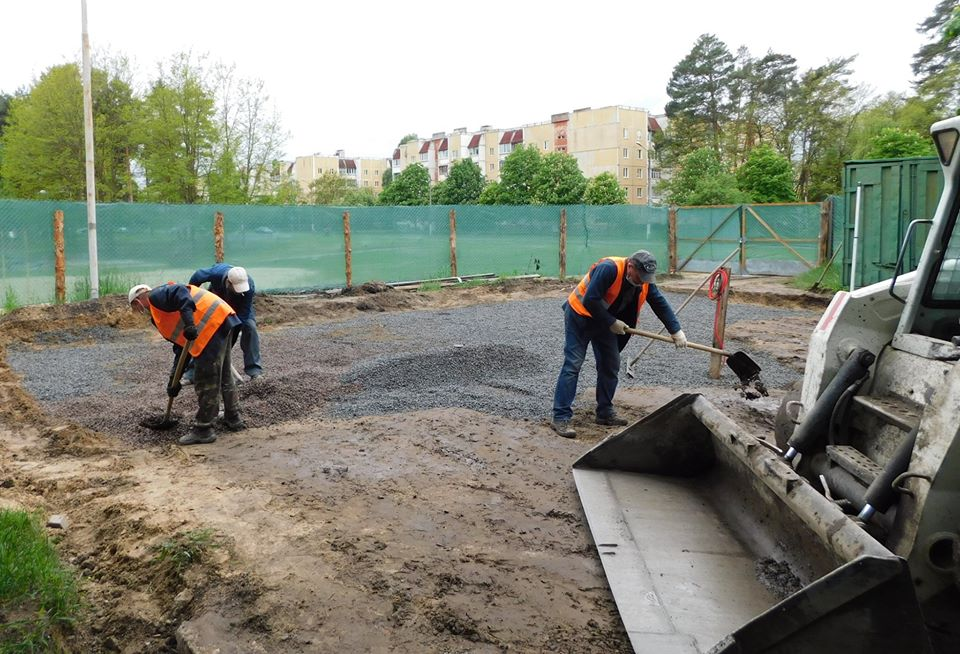реконструкція, парк, Славутич